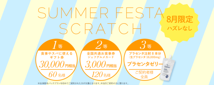 銀座カラー 8月限定キャンペーン