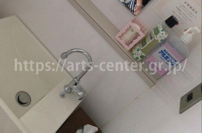 銀座カラーお手洗いの写真