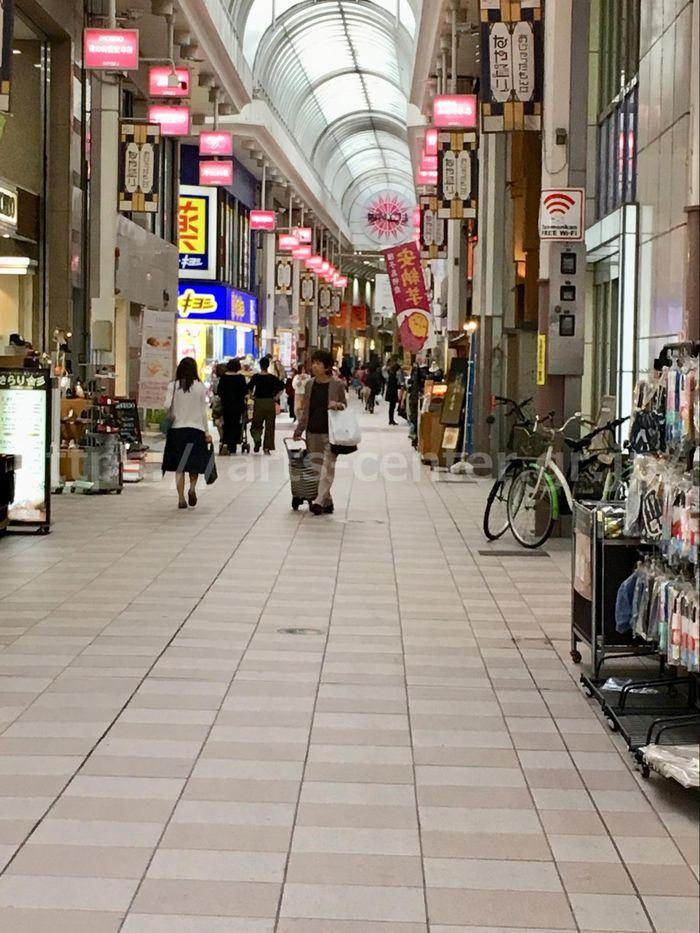 キレイモ鹿児島いづろ通店へのアクセス