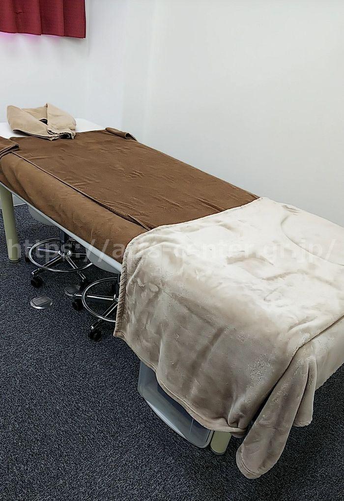 恋肌の施術室