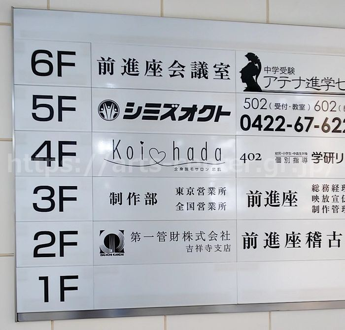 恋肌吉祥寺店までの行き方