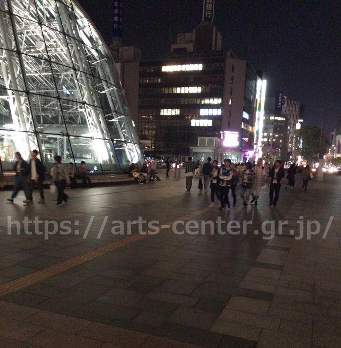 ミュゼJR札幌駅前店へのアクセス