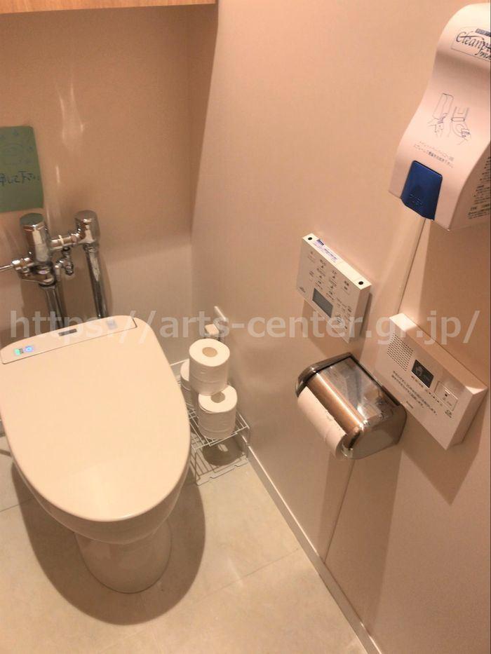 ミュゼのトイレ