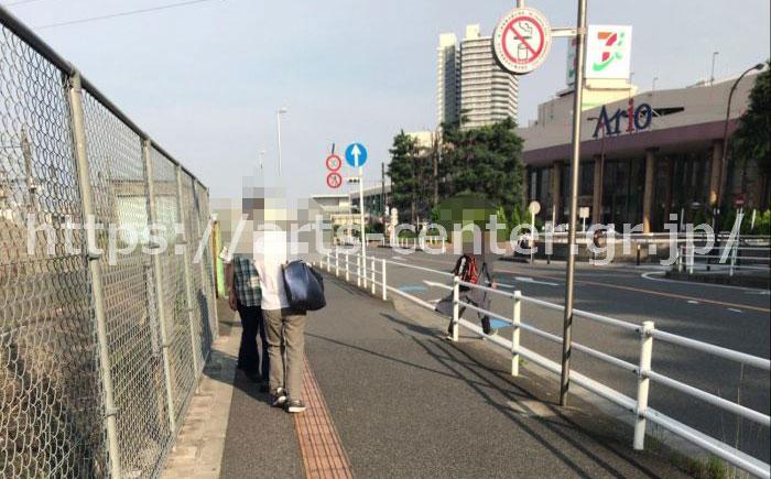 ミュゼプラチナムグランアリオ橋本店へのアクセス。橋本駅からアリオまで