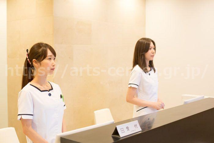 新宿ラクル美容外科クリニックの受付スタッフさん