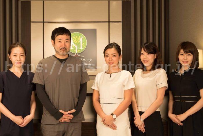 渋谷の森クリニックの院長とスタッフのみなさん