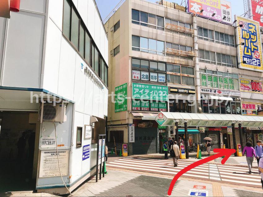TBC蒲田駅前店までのアクセス