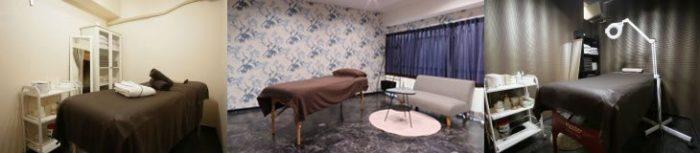 アンジェリーナの個室